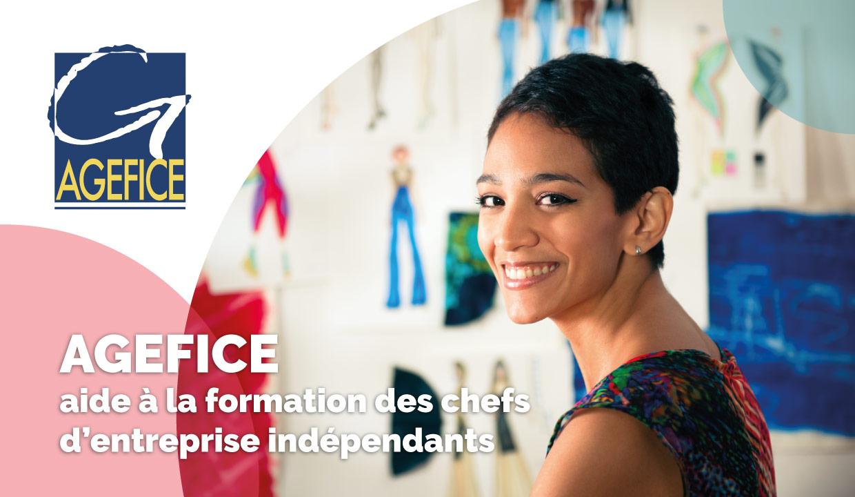 L'AGEFICE, le Fonds d'Assurance Formation qui finance les formations des chefs d'entreprise indépendants.