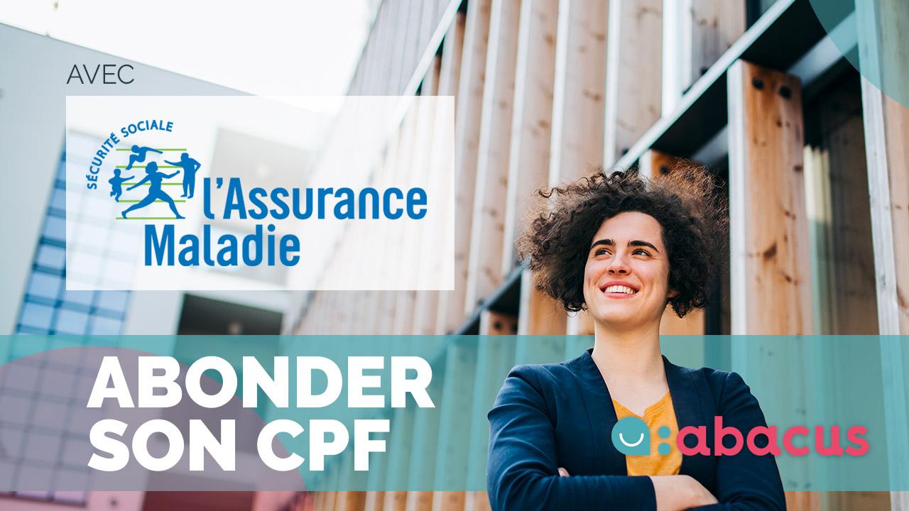 La CPAM peut abonder le CPF d'une victime d'incapacité permanente.