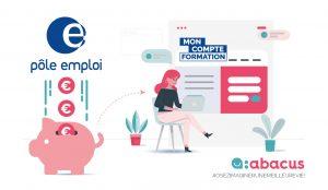 Demandeur d'emploi ? Pôle Emploi peut venir abonder votre CPF directement dans l'application MonCompteFormation.