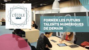 L'école LDLC à côté de Lyon : formation aux métiers du numérique de demain