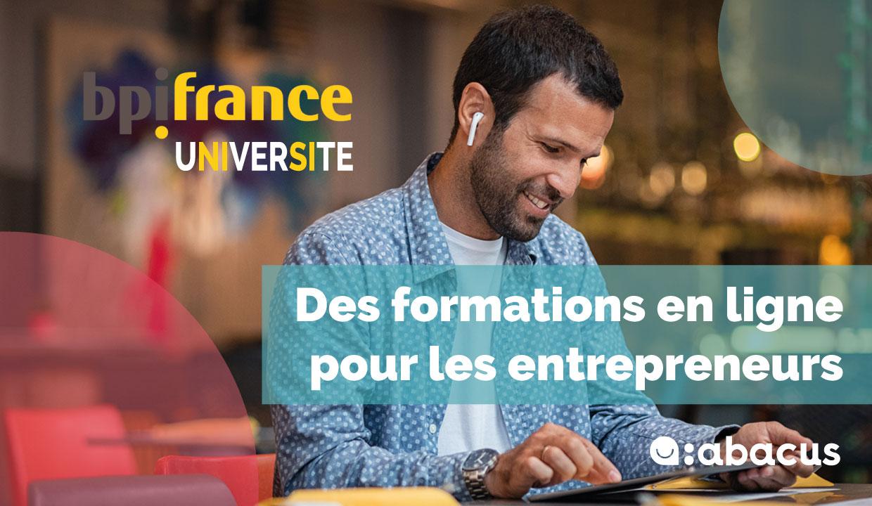 Bpifrance Université propose des formations en ligne gratuites pour les entrepreneurs qui veulent booster leur entreprise.