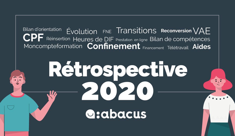 Retrouvez tous les articles du blog ABACUS en 2020 sur le bilan de compétences et le CPF !