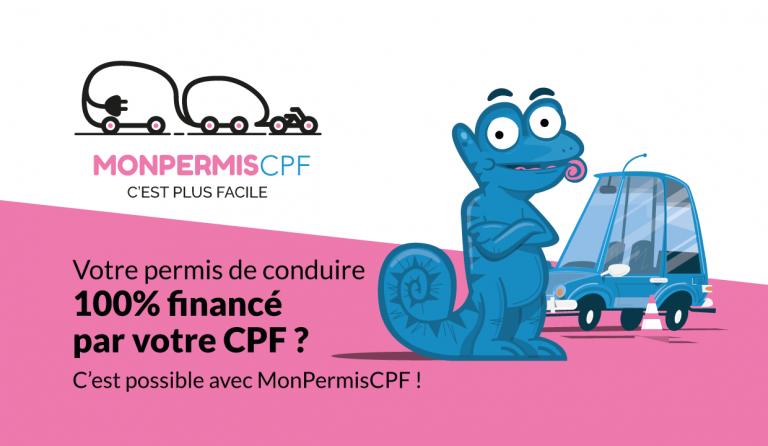 MonPermisCPF, l'auto-école du permis financé avec le CPF