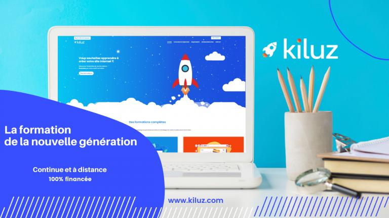 Kiluz : l'école en ligne de la nouvelle génération