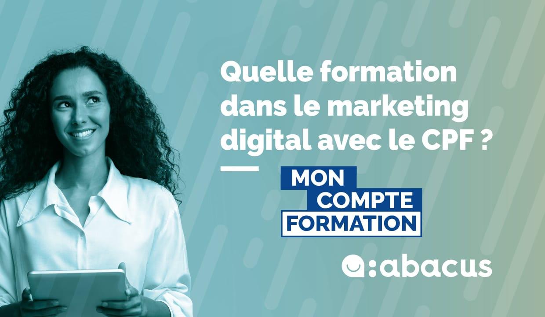 Faire une formation dans le marketing digital avec le CPF : le guide